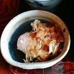 蕎麦処 多賀 - 辛味大根。