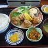 お食事処はなや - 料理写真:若鶏のから揚げ定食
