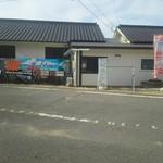 SOBA CAFEゆうひ - 店舗外観   海の家っぽい