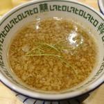 中華そばムタヒロ - つけ汁