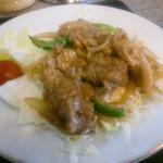 ラーメン8 - 豚肉生姜焼き