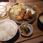 七色食堂 - ばかうまチキン南蛮定食