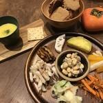Organic Cafe ゆきすきのくに - 自然栽培の野菜中心のデリプレート(1500円~)