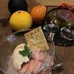 Organic Cafe ゆきすきのくに - ノンシュガーの桃のムース(800円)