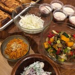 Organic Cafe ゆきすきのくに - 7種類の夏野菜のラタテュユ、ほか