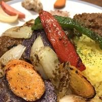 Organic Cafe ゆきすきのくに - オーガニック・ヴェジタリアンカレー(1800円)