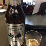 マーボー飯店 - 瓶ビール 大瓶