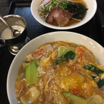 マーボー飯店 - 中華カツ丼定食