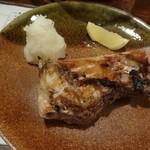 太郎 - ぶりカマ塩焼き