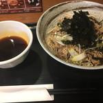 マツノ屋 - ひろしまでの元祖ラー油蕎麦!