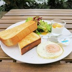 アルマド カフェ - 料理写真:アルマドカフェモーニングセット