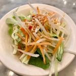 Hainanchifan - セットのサラダ