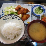 定食・喫茶 杉 - 料理写真:カキフライ¥500-