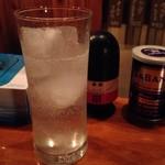 立ち飲み 泡 - レモンサワー