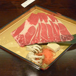 鬼怒川プラザホテル - 料理写真:牛しゃぶ