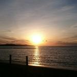 里見茶屋 - 夕日きれいでした