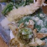 ふくちゃん - 春野菜の天ぷら
