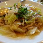 麗江 - 豚肉と春雨の醤油煮