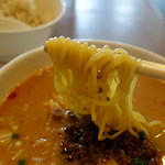 麗江 - 担々麺の麺