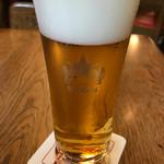 ビヤホールライオン 銀座七丁目店 - ビール