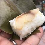 静亭 - 柿の葉すし 鯖