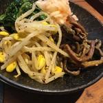 焼肉トラジ - ナムル4種盛
