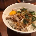 麺屋横浜にぼし堂 - ネギチャーシュー丼(時間帯によりサービス)