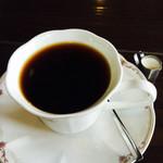 逸珈琲 - セットの日替わりコーヒー(この日はエチオピア)