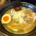 麺屋まるか守破離  - 料理写真:「三獣ラーメン」しお780円