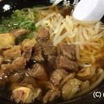 麺屋人生劇場 七転び八起き - 肉ラーメン(醤油)700円