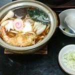 妙高そば - 鍋焼うどん(800円)