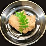 gionkawakami - 『鯛の肝の味噌漬け』~!! とろ~りとして濃厚で とろけるような舌触りで、フォアグラのような食感~♪( ^o^)ノ