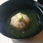 白川 - 蓮根饅頭、ふのり餡