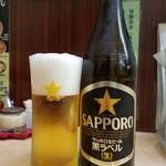八幡 - 瓶ビール・中瓶(500円)