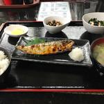 柚木家 - 焼きサバ定食(¥800)