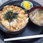 つり堀 武蔵野園 - 【人気No.6】カツ丼 800円(税込)