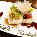 囲 - 誕生日・記念日にホールケーキ又はデザートプレートをご用意♪