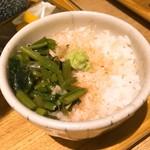信州松本ヒカリヤ - わさび飯