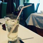 ル ボークープ - 自家製柚子シロップのソーダ割り