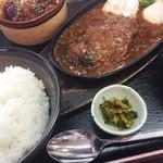 ごはん処 あいさい - 料理写真:ハンバーグ定食