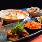 お好み焼きシネマ - 薬膳ランチ