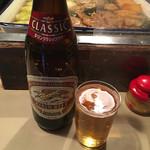 64470827 - ビールはラガー、一番搾り、スーパードライから選べます。