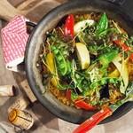 スペインバル ラパエラ - 料理写真:契約農家の野菜パエリア