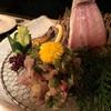 旬宝 - 料理写真:あじの刺身です。