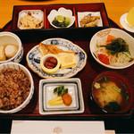 真南風 - 料理写真:和定食 @2,420円 ご飯は五穀米を選びました。
