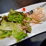 64475770 - 『2次会プラン』の料理(選べるオツマミ;ポテトサラダの明太マヨ掛け)