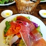 パスタ食堂ヒラコンシェ - 前菜7種盛り