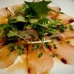 バウレット - 鮮魚のカルパッチョ