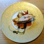 ヤナカ スギウラ - ランチコース3,600円+税 大山鶏、シェリービネガーソース