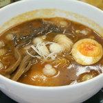 医食同源 天下御麺 - 料理写真:世界初!シナモンラーメン ¥780
